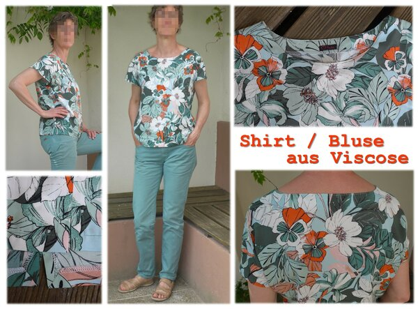 Shirtbluse Viscose