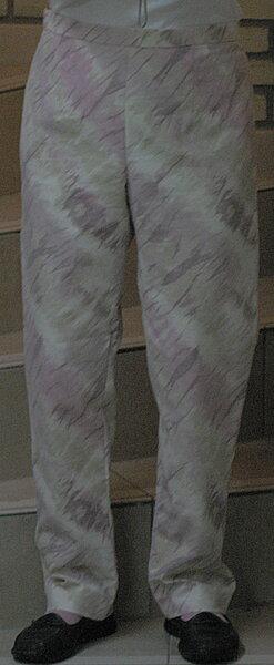 Eine Sommerhose für mich - Mut zum Muster!