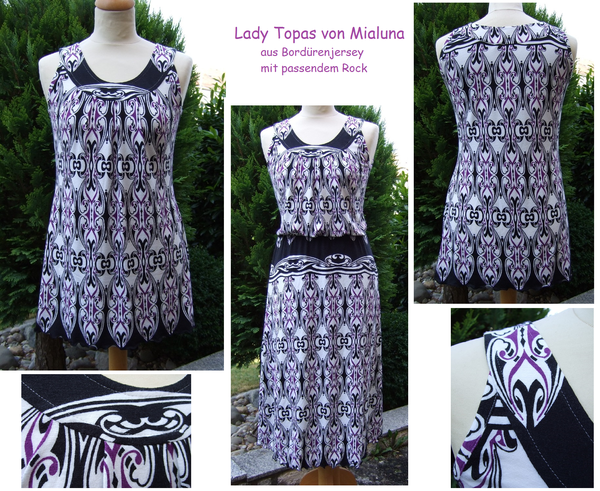 Lady Topas aus Bordürenjersey