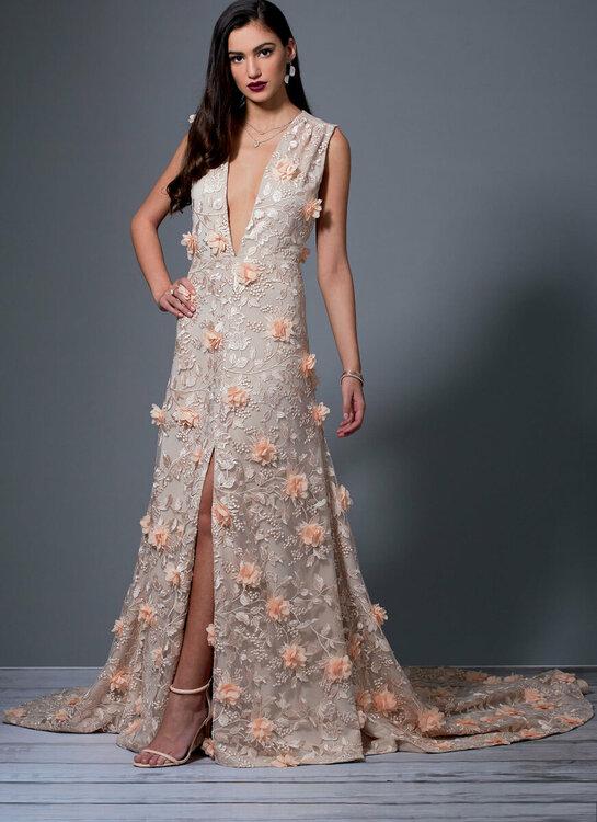 Kleid M7927, Bild McCalls Company New York