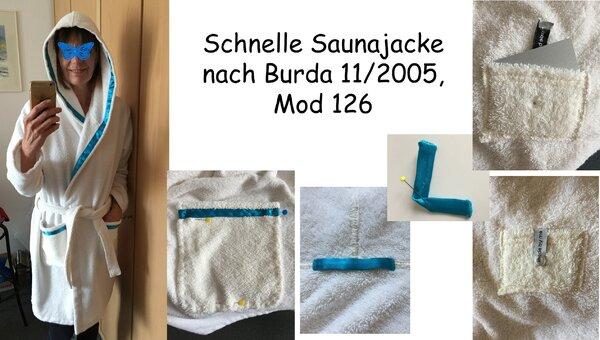 Saunajacke (Burda 11/2005)