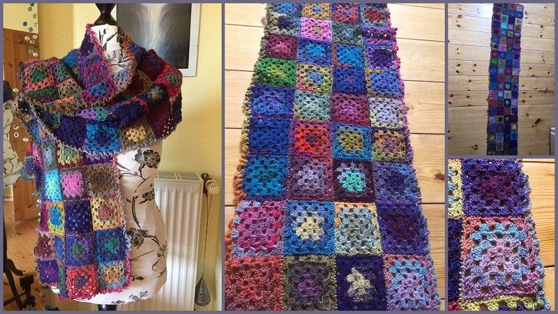 Schal aus lauter Grannies
