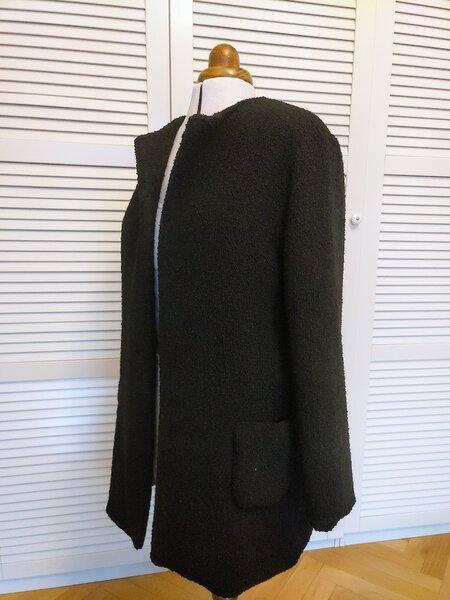 Lange Jacke aus Nähtrends 8/2017 Mod. 13 Gr. 42