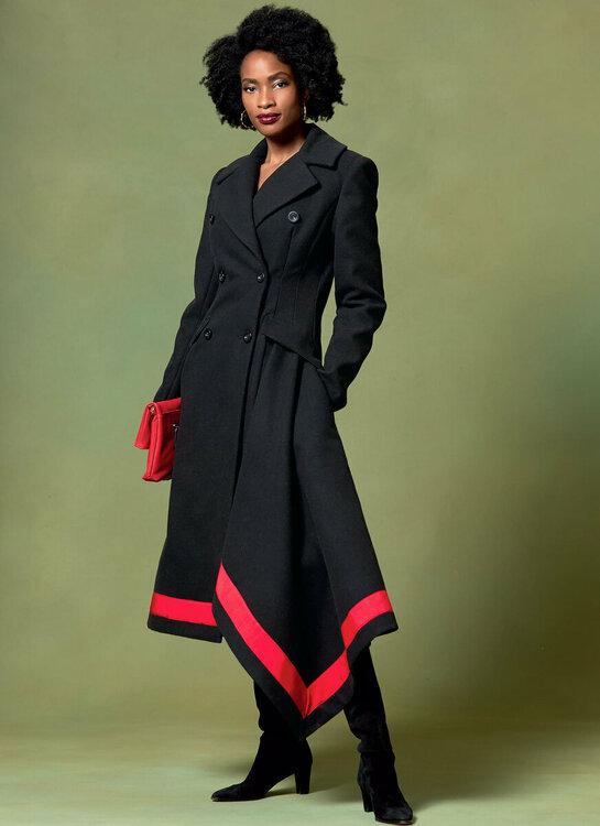 Mantel Vogue V1649, Bild McCalls Company NY