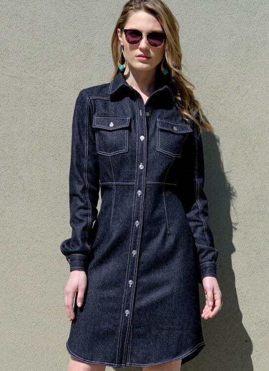 Kleid M7996, Copyright McCALL's ® Company, NY