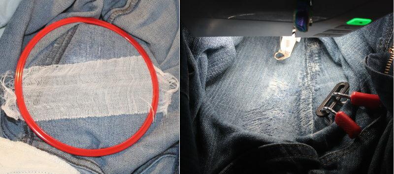 Jeans Stopfen