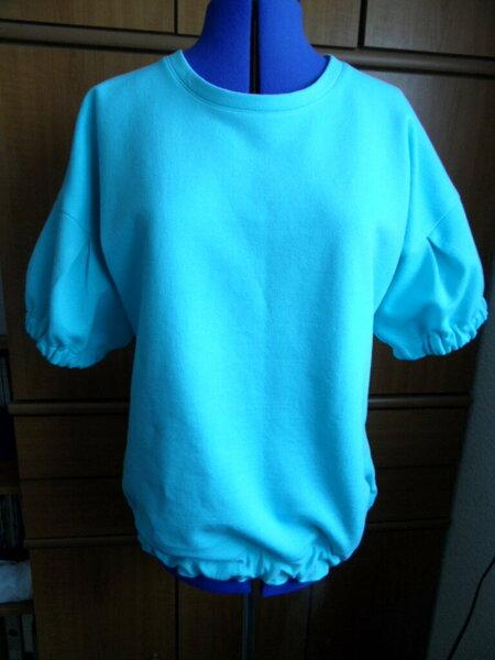 Die Komplizin, Shirt mit Ballonärmel