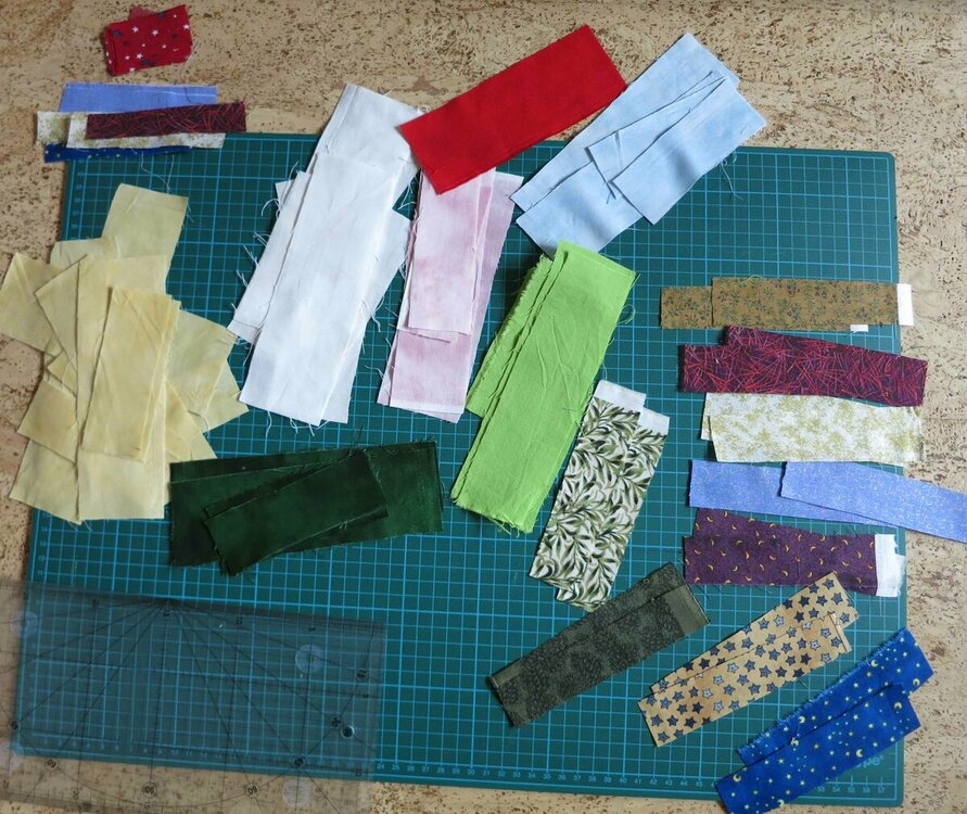 Deckchen Material sortiert.JPG
