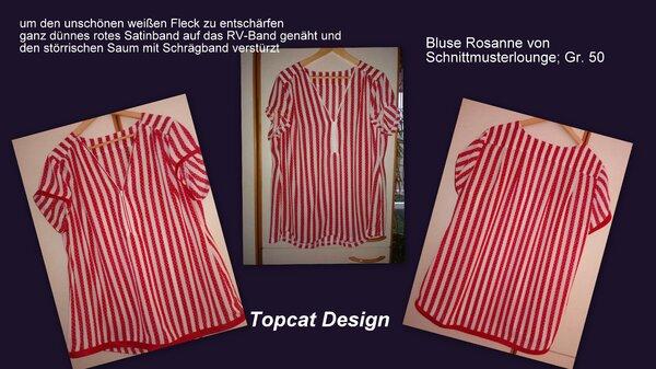 Bluse Rosanne von Schnittmusterlounge; Gr. 50