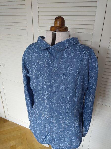 Blusenshirt mit Kragen Anke von hinten