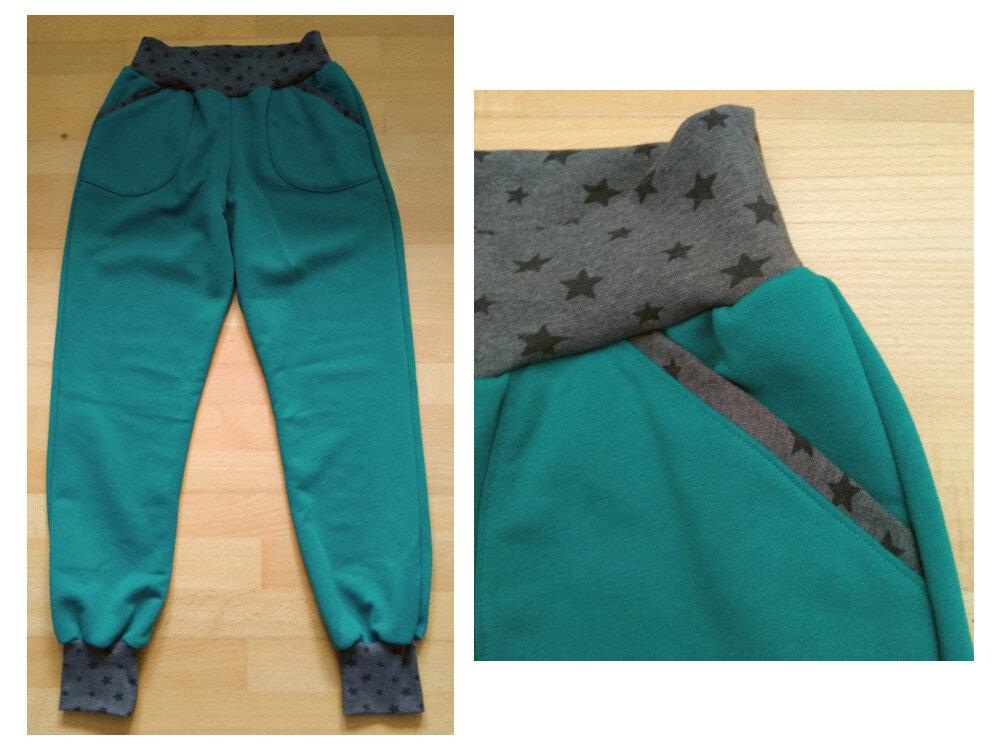 Jogginghose smaragdgrün (Sanna von näähglück)